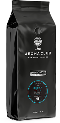 Aroma Club Decaf John koffiebonen