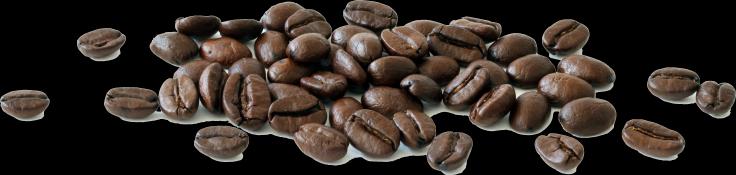Aroma Club koffiebonen hoopje