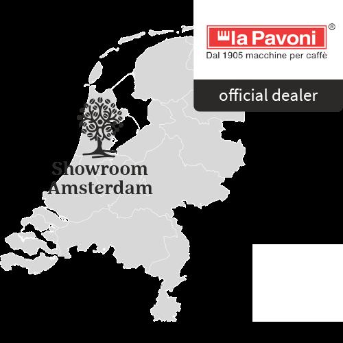 Aroma Club Showroom op kaart