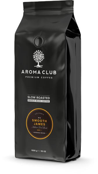 Aroma Club Smooth James koffiebonen