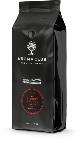 Aroma Club Strong George koffiebonen